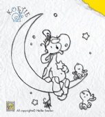 Nellie Snellen - Koetie Clear Stamp - Koetie Wish Upon a Star